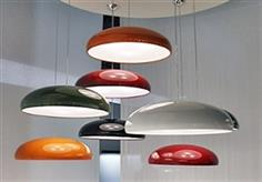 Luminaria para  Suspender  Pangen 3 X E27 Fontana  Arte
